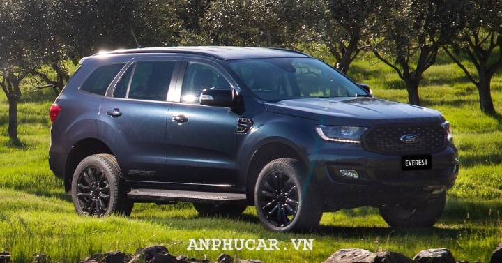 Ford Everest Sport 2020 ra mat tai Thai Lan